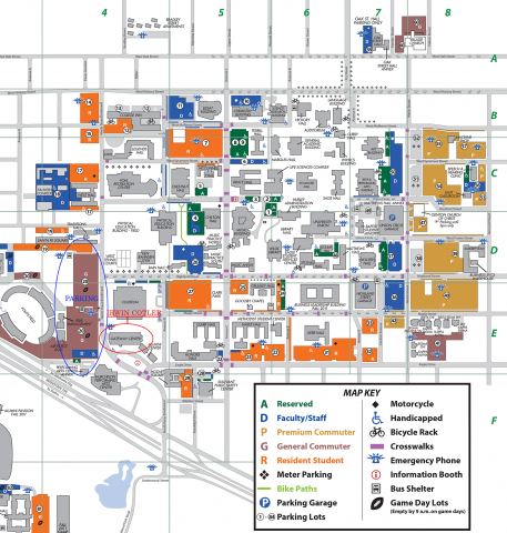 Unt Parking Map Irwin Cotler | Jewish and Israel Studies Unt Parking Map
